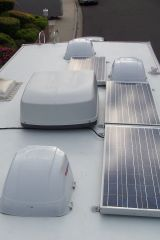 Marine and RV solar power systems